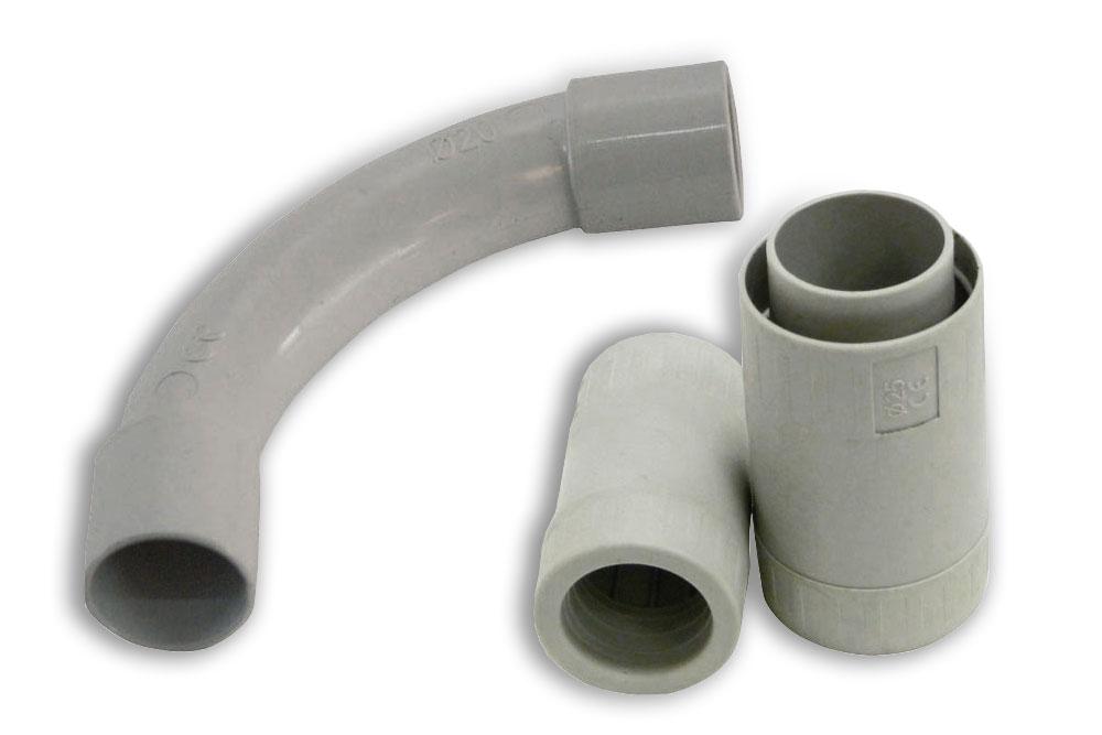 Raccordi in pvc per tubi elettrici sartel for Raccordi per tubi scaldabagno